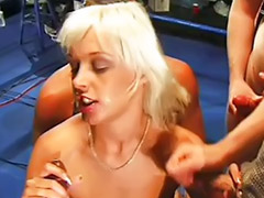 Brunette interracial gangbang, Blond hard gangbang, Interracial 3 some, Blonde interracial gangbang, Interracial blonde gangbang, Gangbang blonde interracial