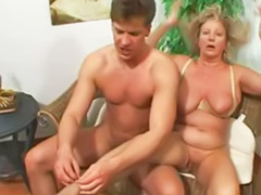Mature, Oma anal, German mature