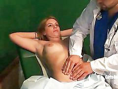 Gyno, Gyno x, Brianna, Cole, Latex nurse, Uniform office