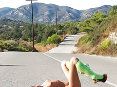 Maria, Teen maria, Maria teen, On road, سكس maria, Teen solo outdoor