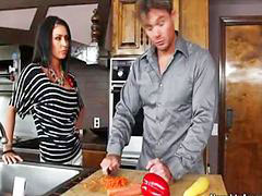 Justin, Justine, Hot in kitchen, سكس justin
