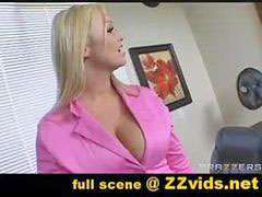 At work, Abbey brooks, Abbey brooke, Abbey, Big tits at work, Big tits at works