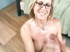 Ful, Milf hand, Dirty milf, Dirty handjob, Blond hand, Milf dirty