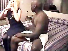 Grinding, Grind, Hubby films, Wife cream, Hubby filming, Wife on black