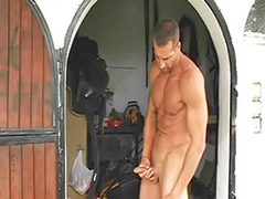 Public jerking, So gay, Jerk public, Stable, Public jerk, Jerking public