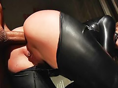 Tori black, Latex anal