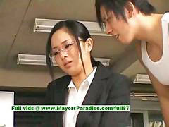 Aoi, Asian secretary, Asian innocent, Time fuck, Naughty secretary, Innocent fuck