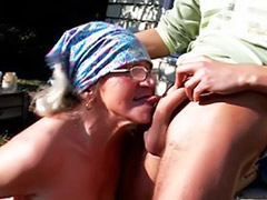 Granny, Granny big ass, Blonde granny, Granny hairy, Hairy granny, Granny blowjob