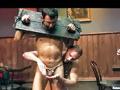 Bar, Tied up gagged, Tied gagged, Gay tied, Gagging gay, Tied public