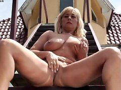 Slut big boobs, Masturbation outside, Masturbating outside, Mature outside, Mother stockings, Mother big boobs