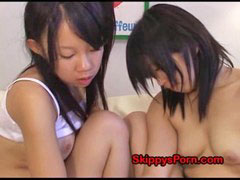 Asian, Girls, Girl, Rimming, Cute
