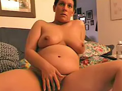 Hairy, Pregnant anal