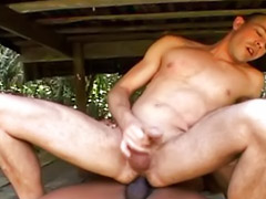 Cumshot, Muscle, Muscles, Men, At, Bareback