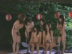 Nudist, Japanese shemale