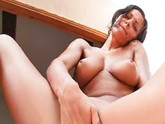 In her pussy, Busty solo pussy, Busty solo fingering, Busty fingering solo, Busty fingering, Busty brunette solo