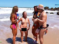 Nudist, Reporter, Nudist beach, Beach nudist, Report, Nudists beach