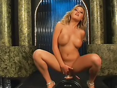 Jasmine tame, Tame, Dildo play, 2 blond girls dildo play, Toys and dildos solo, Playing with dildo