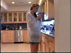 Softcore, Smoking fetish, Softcor, Roleplay, Fetish smoking, Mom in kitchen