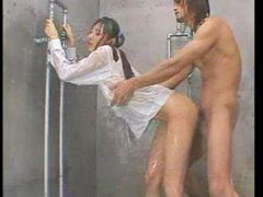 Shower fuck, Under a shower, Japá, Japs, Japness, Jap girls