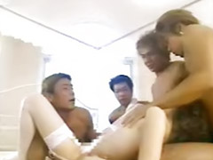 Mask, Asian gangbang, No!please, Masked, Gangbang mask, No asian