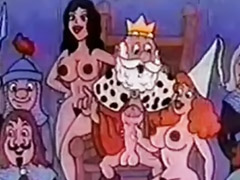 Vintage, Midget, Maid, German, Cartoon, Funny