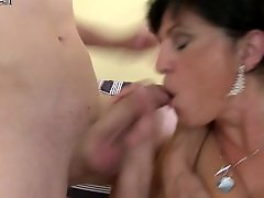 Young mom, Mom, Mature squirt, Granny