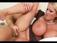 Milf, Natural, Huge tits, Handjob