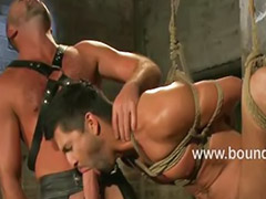 Flogged, Dominating group, Group domination, Group bondage, Bondage group, Gay bondage