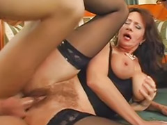 Boss, Milf squirt, Busty milf, Squirting milf, Squirting cock, R-clip