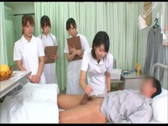 Asian, Handjob, Nurse