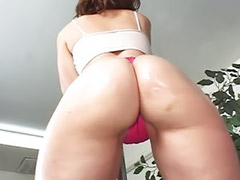 Ass licking, Ass lick, Small cock, Double vaginal, Milf double vaginal, High heel ass