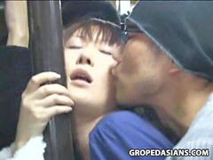 Groped, Bus grope, Bus groping, Groped in bus, Groping in bus, Grope bus