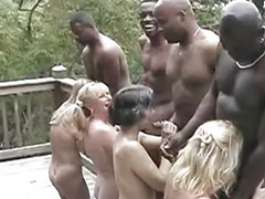 Interracial, Black, Granny, Big cock, Grannies