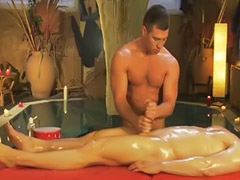 Perfect, Massage, Gay handjob, Brunette massage, Perfect b, Gay massage