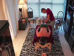 Spy, Spycam, Asian massage, Spy cam, Behind the scenes, Straight
