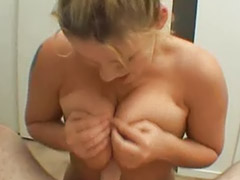 Chubby blonde, Suck tits, Chubby amateur, Blowjob pov facial, Chubby facial, Chubby pov