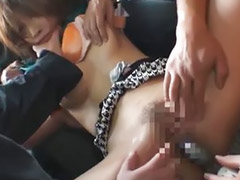 Asian, Japanese, Japanese bus, Gangbang, Bus