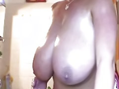 Natural tits, Big natural tits, Soap, Big naturals, Alone girl, Natural tits big