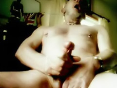 Quick, Male pierced, Cumming quickly, Black male, Cums quick