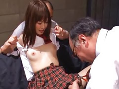 School, School girl, Momoka, School girls, Threesome girls, Fucked school 2