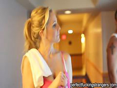 Julia ann, Stranger, *gym, Julia ann gym, Julia ann cougar, Julia-ann