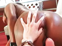 Ebony pussy, White big cock, White cock, Ebony y white, Big white cock, White interracial