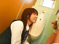 Japan, Secretary, Tease, Femdom handjob, Japanese handjob, Office japanese
