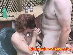 Cum eating, Granny swinger, Granny swingers, Granny party, Wild swinger, Wild party