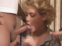 Vintage anal, Two dicks, Vintage anal threesome, Vintage threesome anal, Lynn anal, Lynn