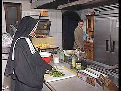 Kitchen, German, Fuck, Nuns