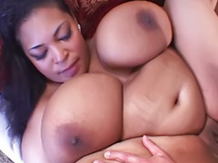 Interracial, Bbw, Cum on tits, Bbw ass, Black bbw, Ebony bbw
