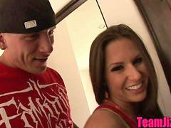 Teen surprise, Teen helping, Rachelle roxxx, Rachell roxxx, Roxxx, Bathroom surprise