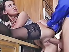 Kitchen, In kitchen, Kitchen anal, Kitchen sex, Anal kitchen, Cum in tits