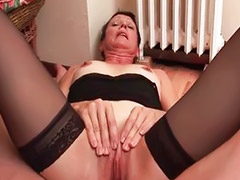 Mature anal, French, Mature